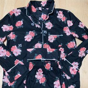 Victoria Secret Pajamas long sleeve Ladies S Smal
